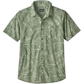 Patagonia Go To Shirt Herr rain fern reverse/matcha green